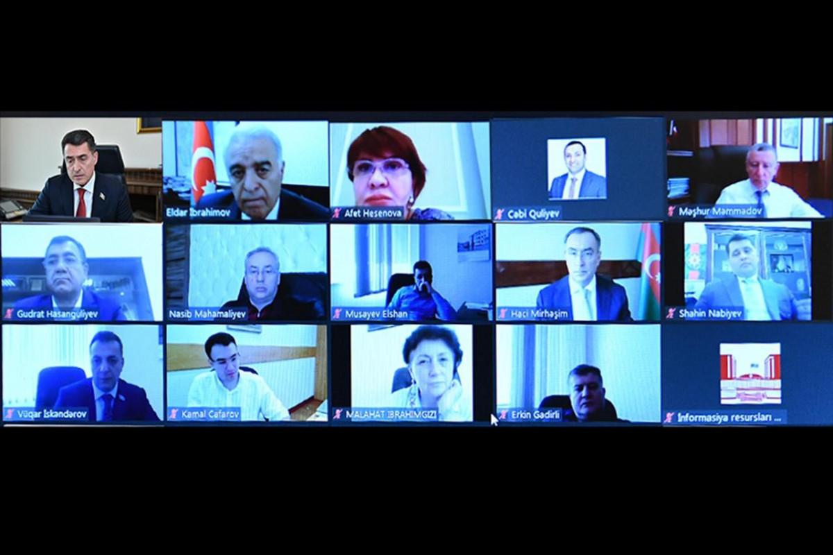 Проект Положения Дисциплинарной комиссии Милли Меджлиса рекомендован пленарному заседанию парламента