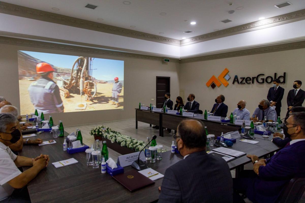 Состоялась встреча ЗАО «AzerGold» с известными геологами страны-ФОТО
