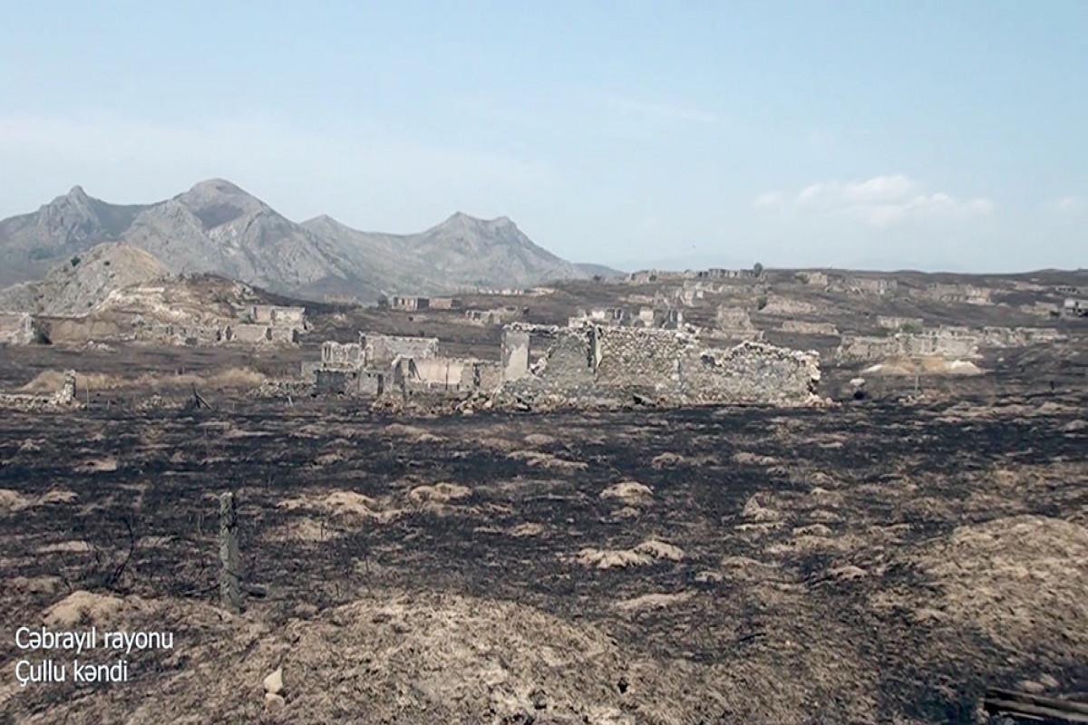 Azerbaijani MoD releases video footage of the Chullu village of the Jabrayil region -VIDEO