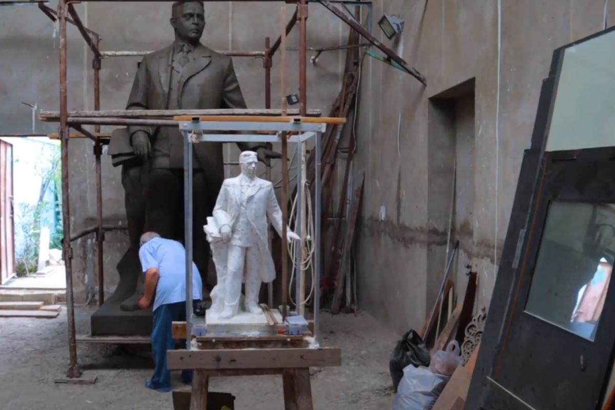 В Шуше установят памятник Узеиру Гаджибейли - ВИДЕО