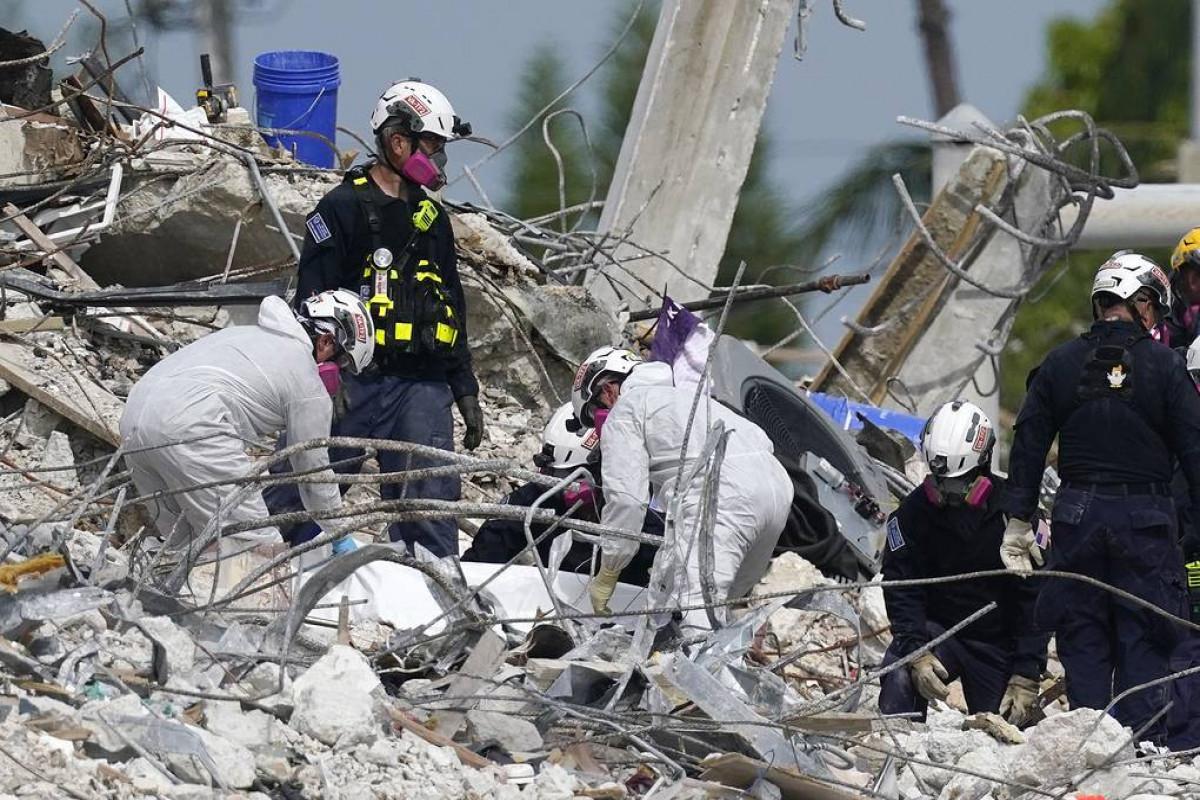 ABŞ-da binanın çökməsi nəticəsində ölənlərin sayı 28-ə çatıb