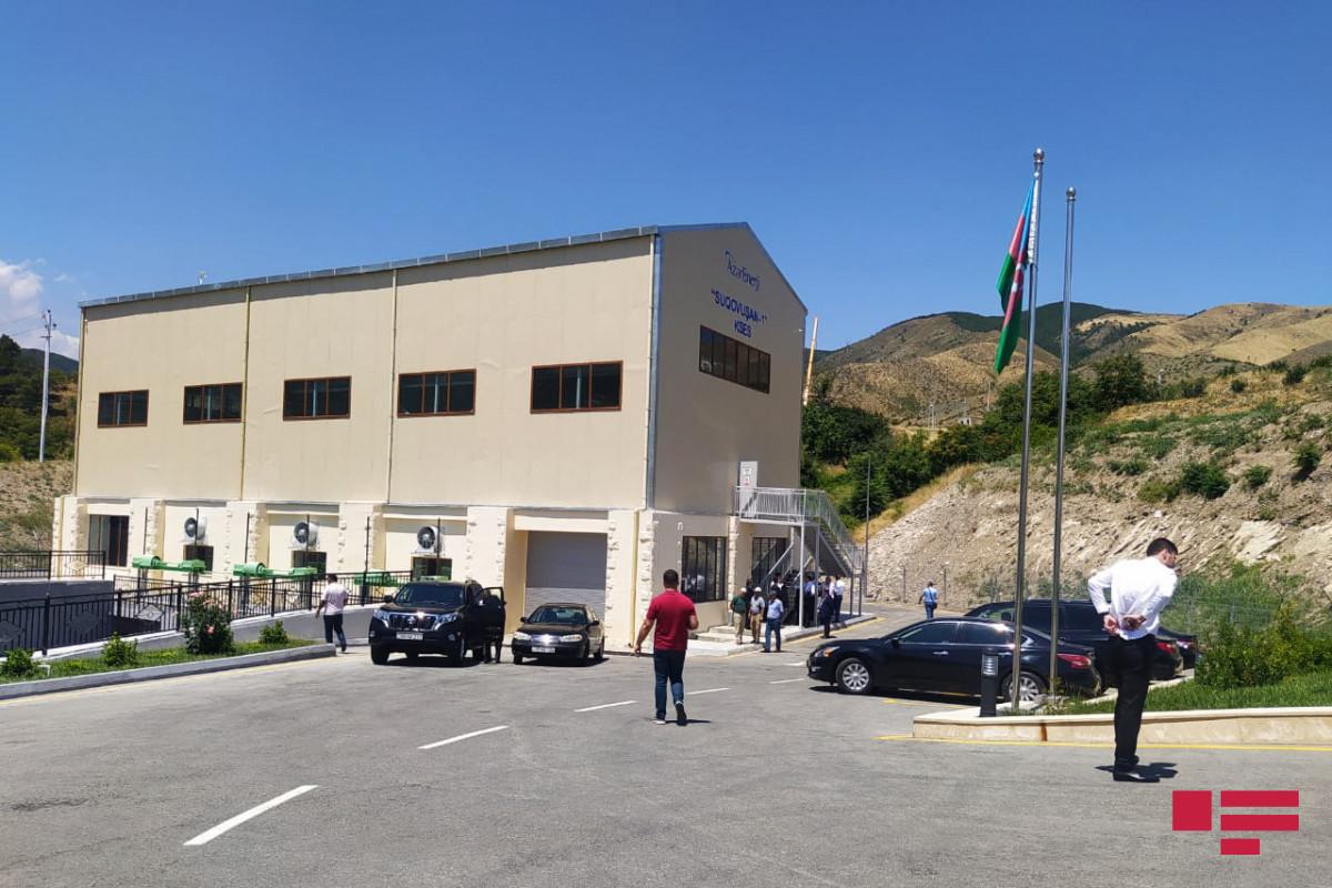 Сданы в эксплуатацию малые гидроэлектростанции «Суговушан 1» и «Суговушан 2»