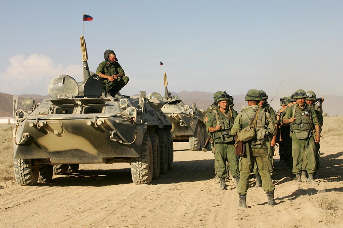 Rusiya XİN: Əfqanıstan sərhədi yaxınlığındakı hərbi bazamız lazımi şəkildə təchiz olunub