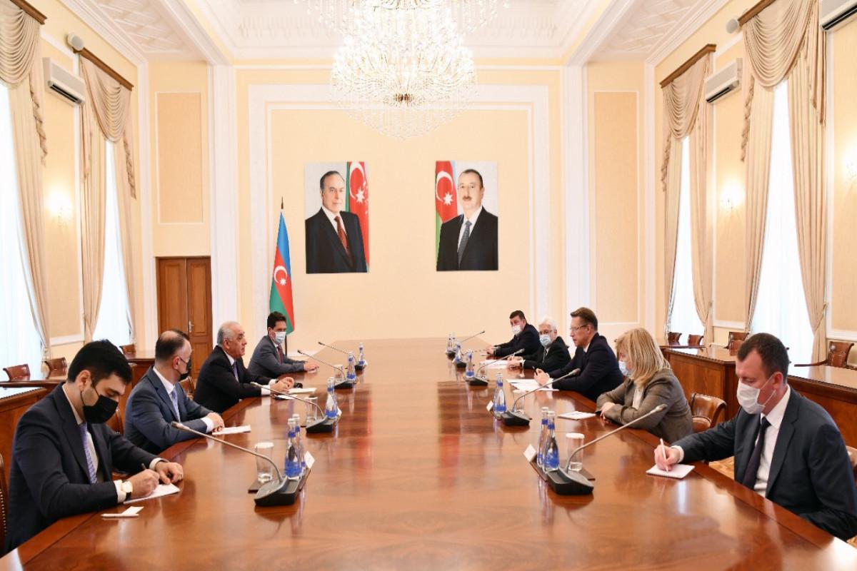 Али Асадов встретился с главой минздрава РФ