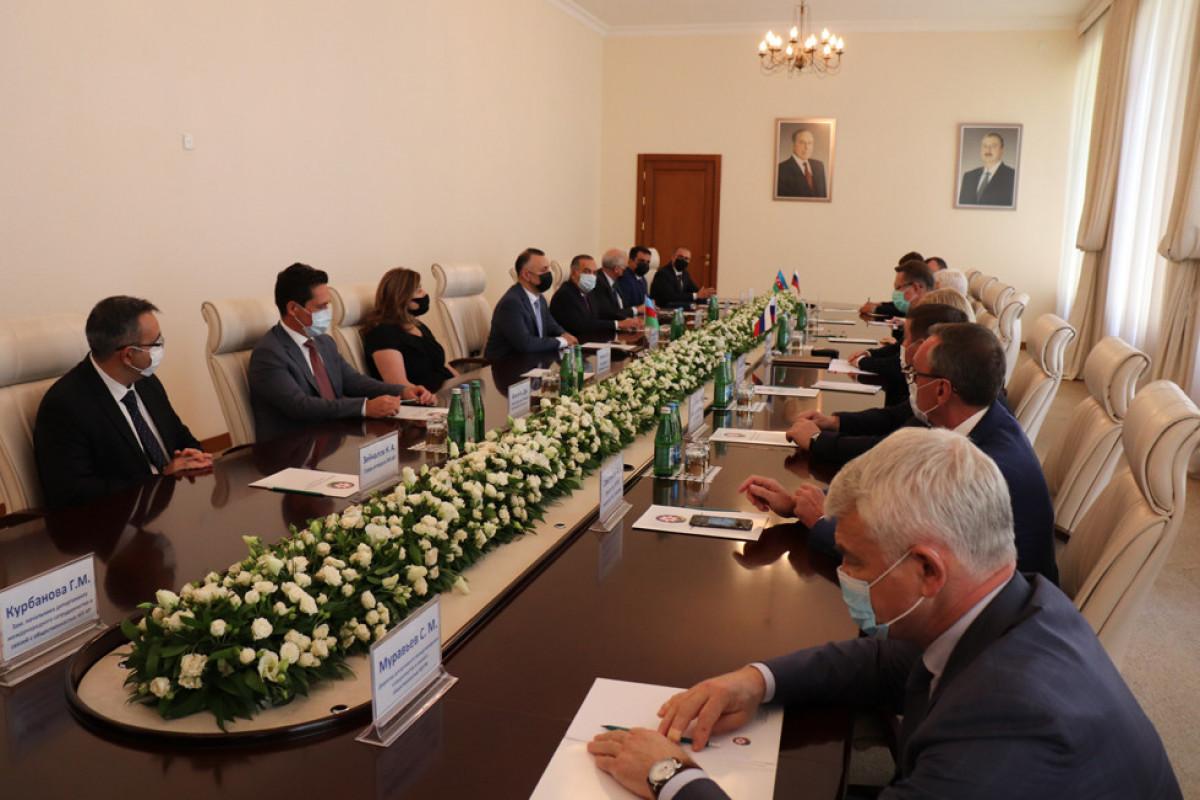 Теймур Мусаев встретился с министром здравоохранения России