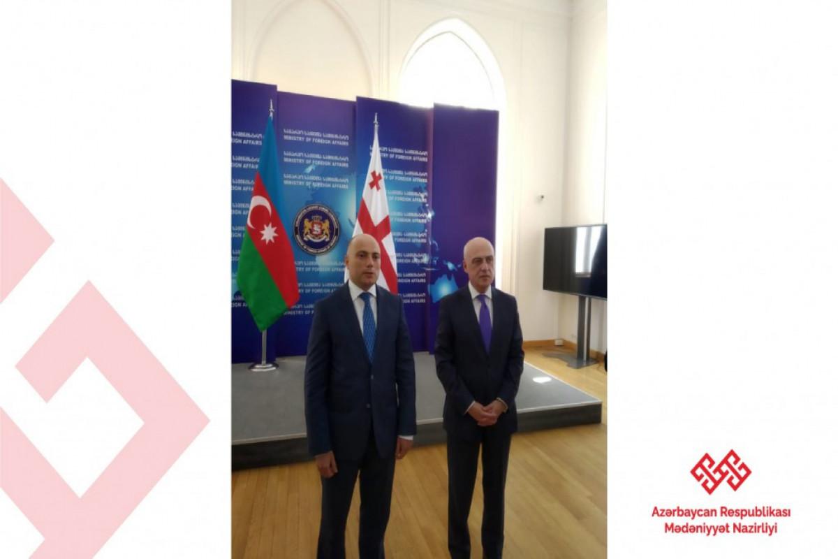 Anar Kərimov Gürcüstanın XİN başçısı ilə görüşüb