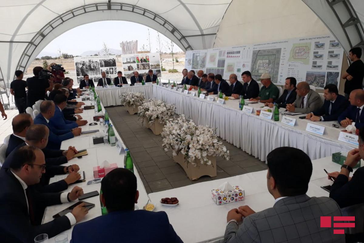 В Агдаме состоялось совместное заседание рабочих групп по вопросам экологии и энергообеспечения