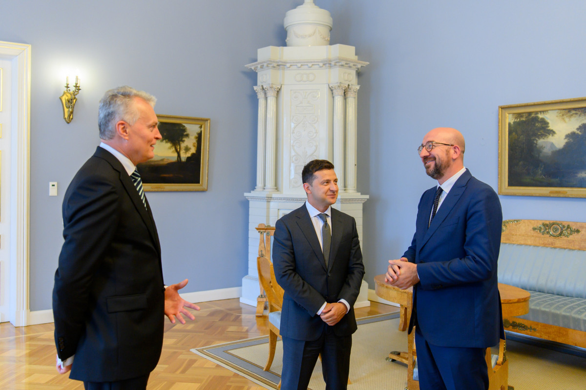 Lithuanian President reveals details of conversation with Zelensky