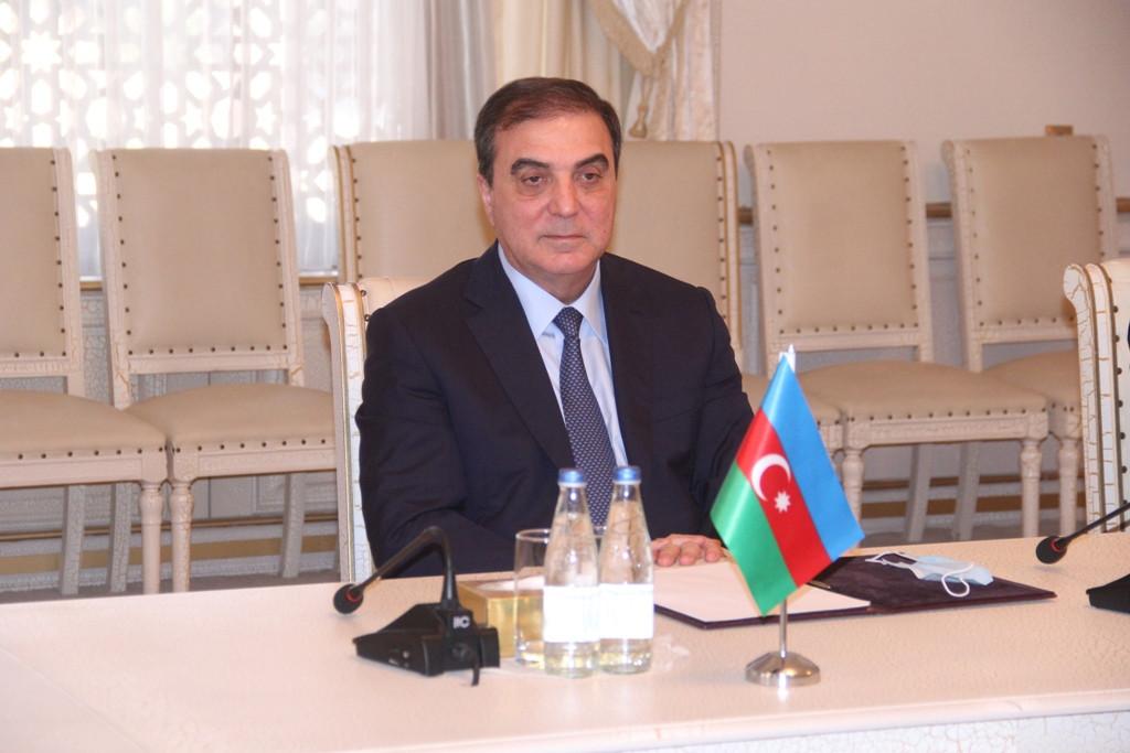 Niyazi Bayramov türkiyəli iş adamı ilə görüşüb