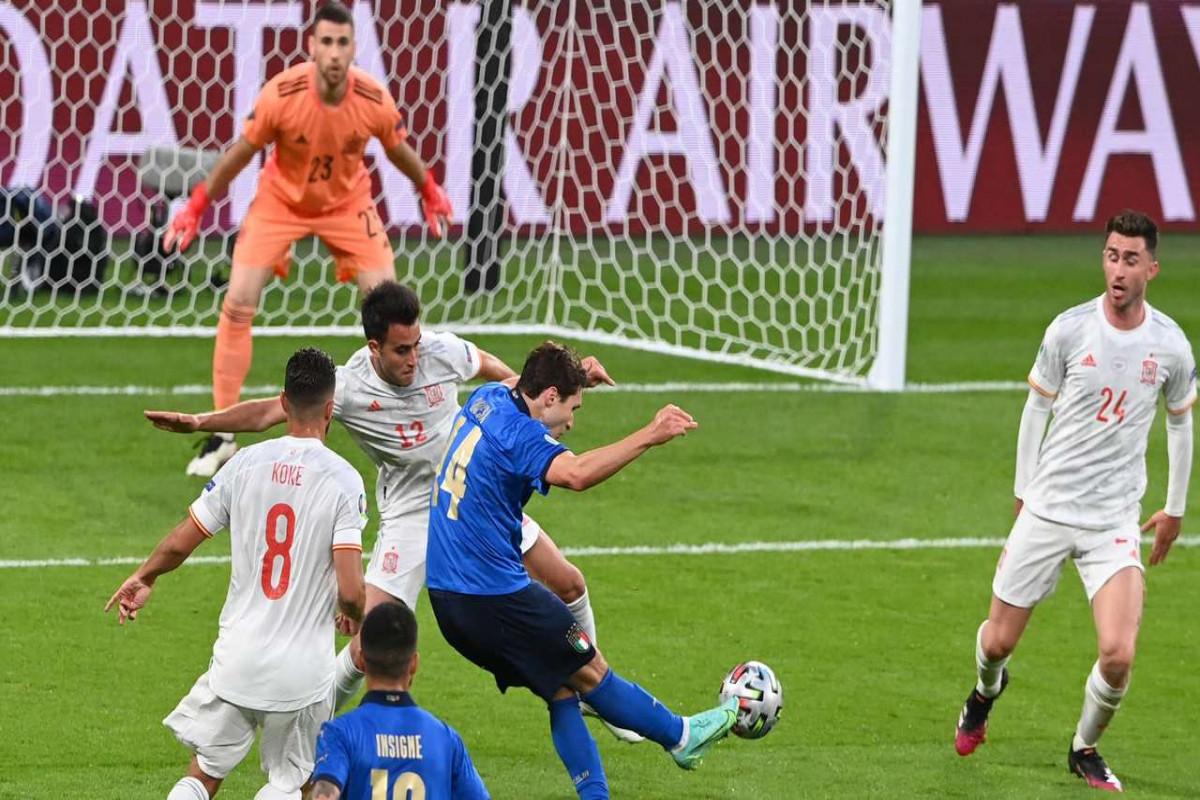 Евро-2020:  Сборная Италии вышла в финал, обыграв Испанию в серии пенальти