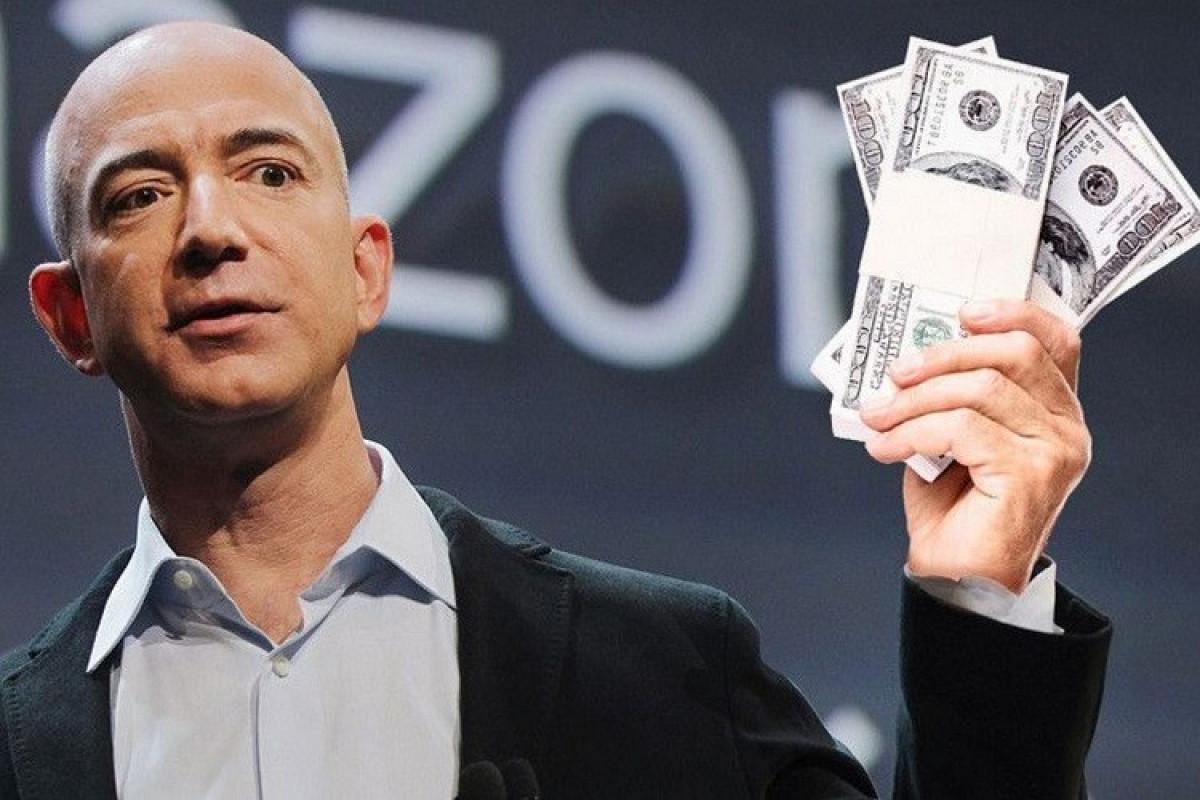 Ceff Bezosun sərvətinin dəyəri rekord həddə çatıb