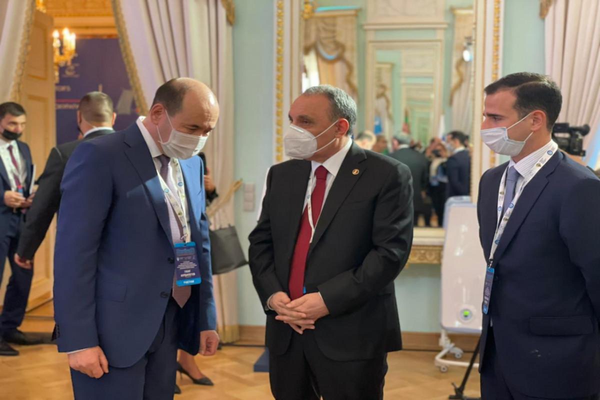 Baş prokuror Kamran Əliyev Sankt-Peterburqa gedib - FOTO
