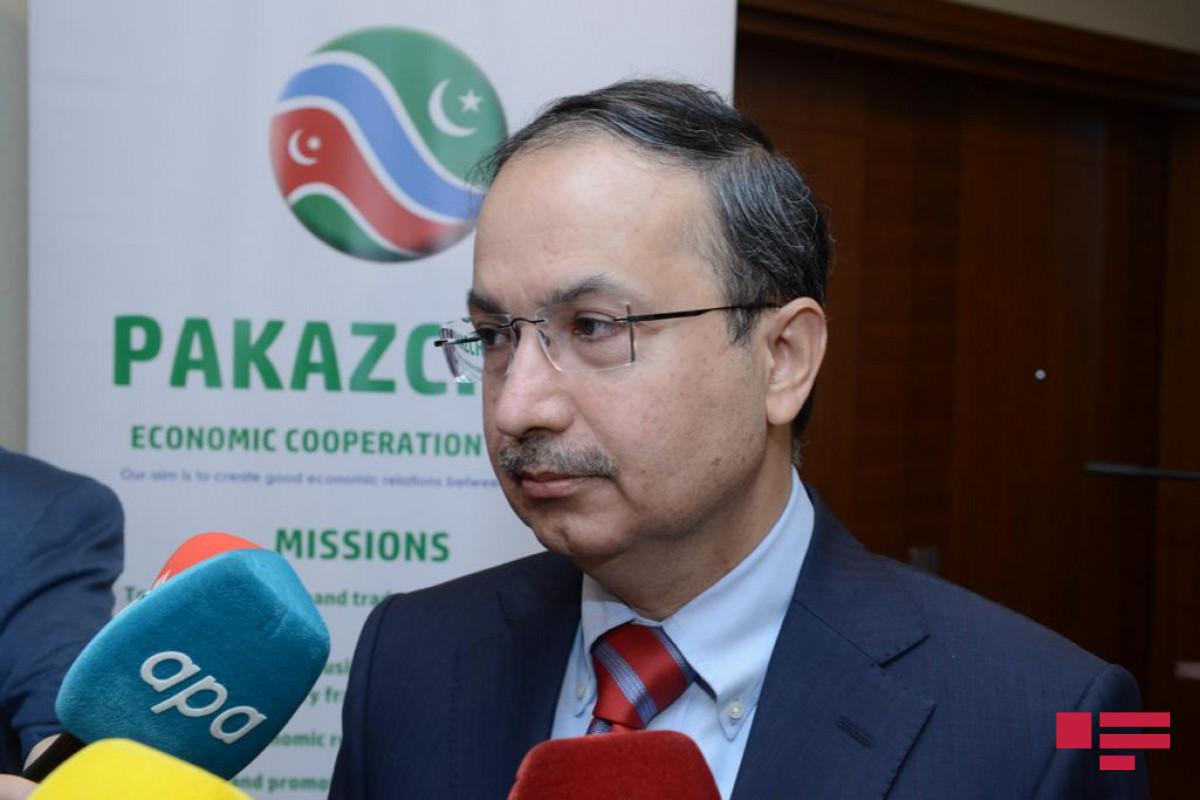 Посол: Имеются большие возможности для участия пакистанских компаний в восстановлении освобожденных территорий