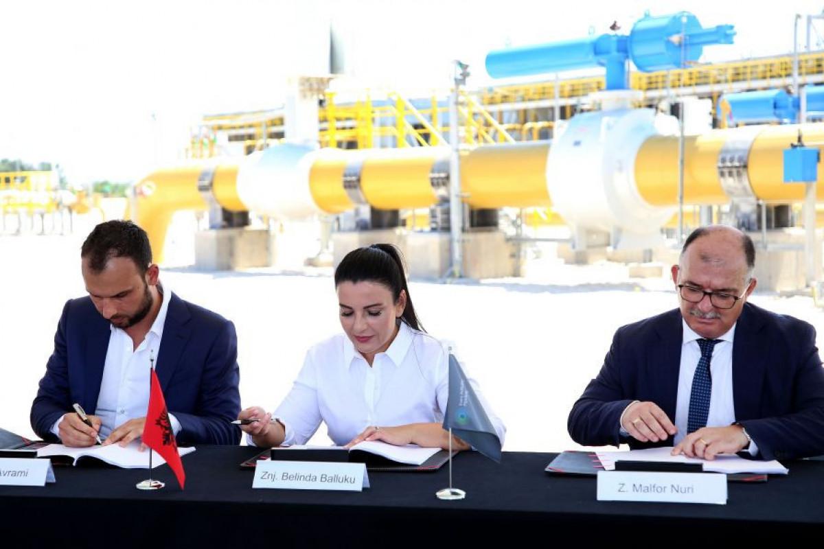 TAP Consortium to construct strategic gas facility for Albania