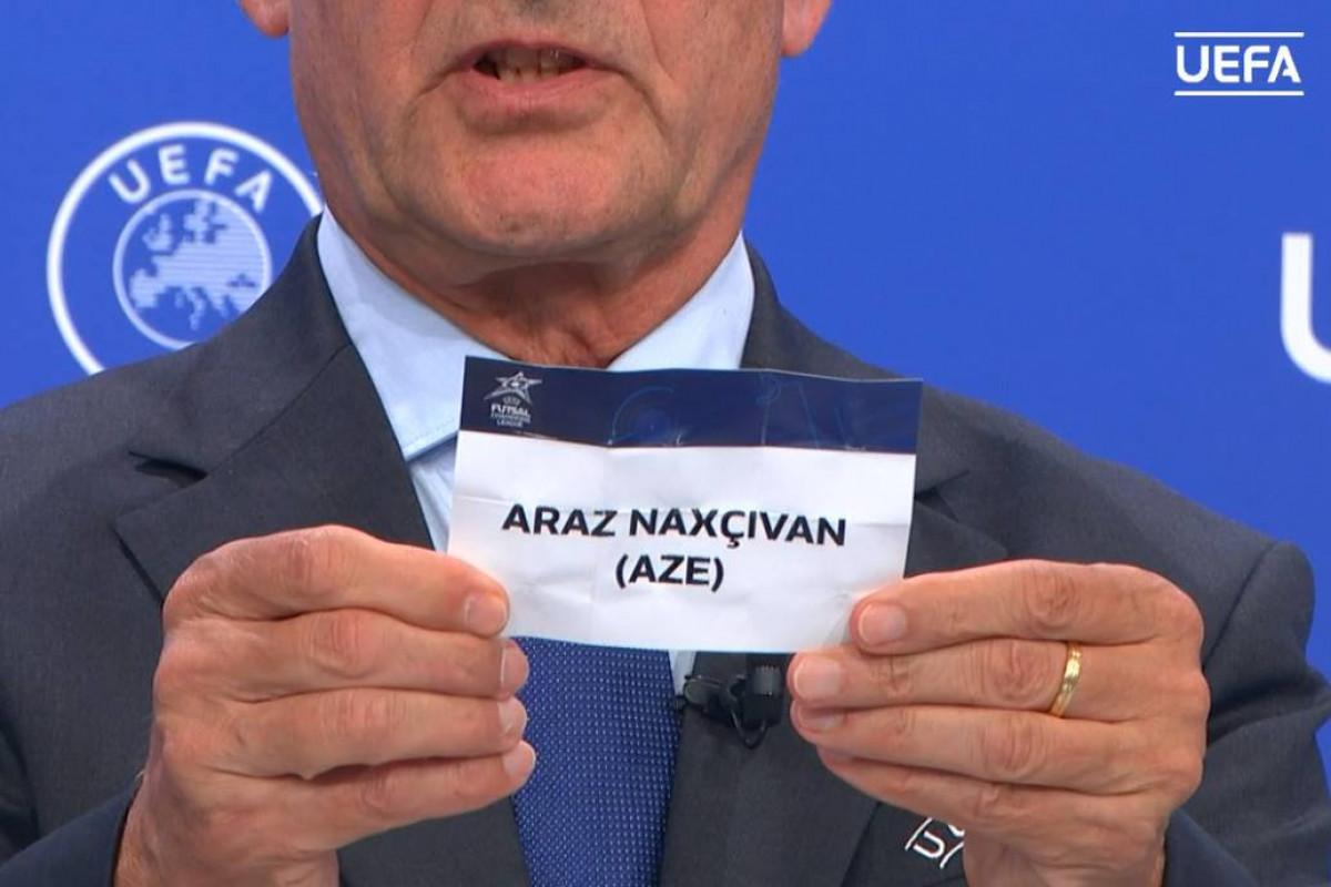 """""""Araz""""ın Çempionlar Liqasına rəqibi bəlli olub"""