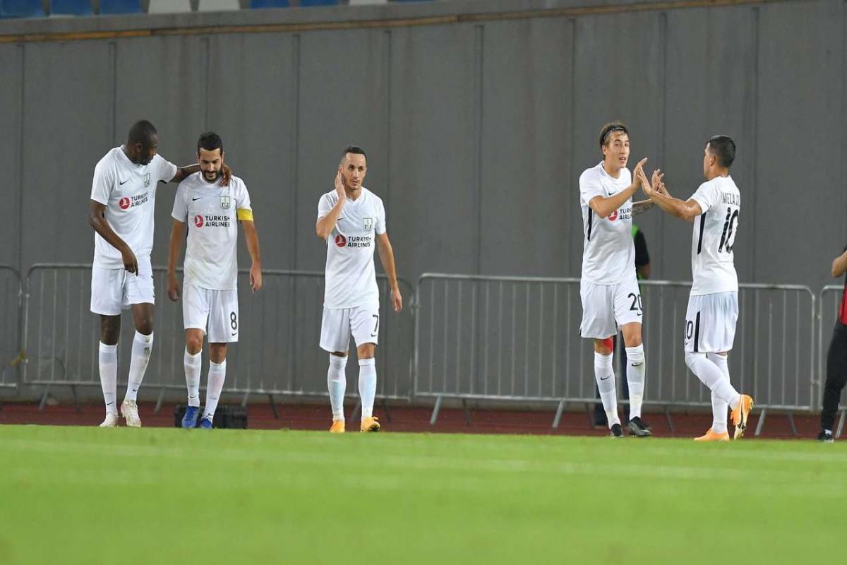 Лига чемпионов:  «Нефтчи» в гостях обыгрыл тбилисский «Динамо»