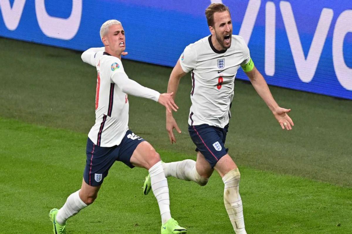 Сборная Англии впервые вышла в финал Евро-2020