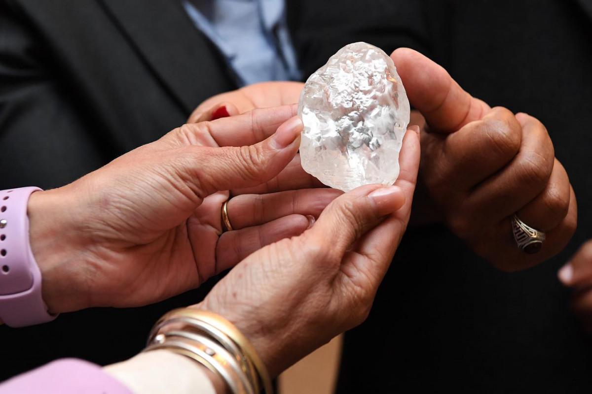 В Ботсване добыли третий в истории по величине алмаз в мире