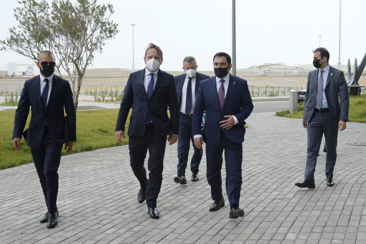 Aİ Bakı Limanına investisiya yatırmağa hazırdır - FOTO  - YENİLƏNİB