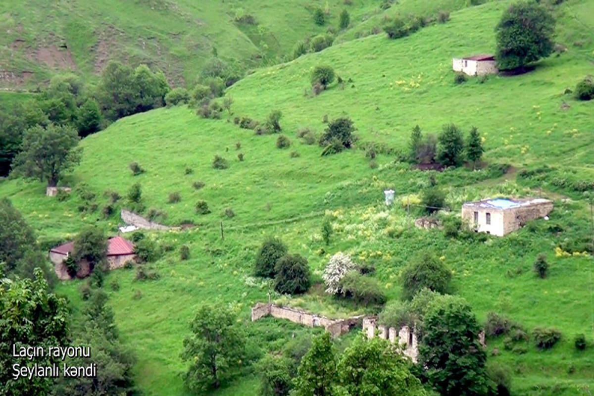 Село Шейланлы Лачинского района-ВИДЕО