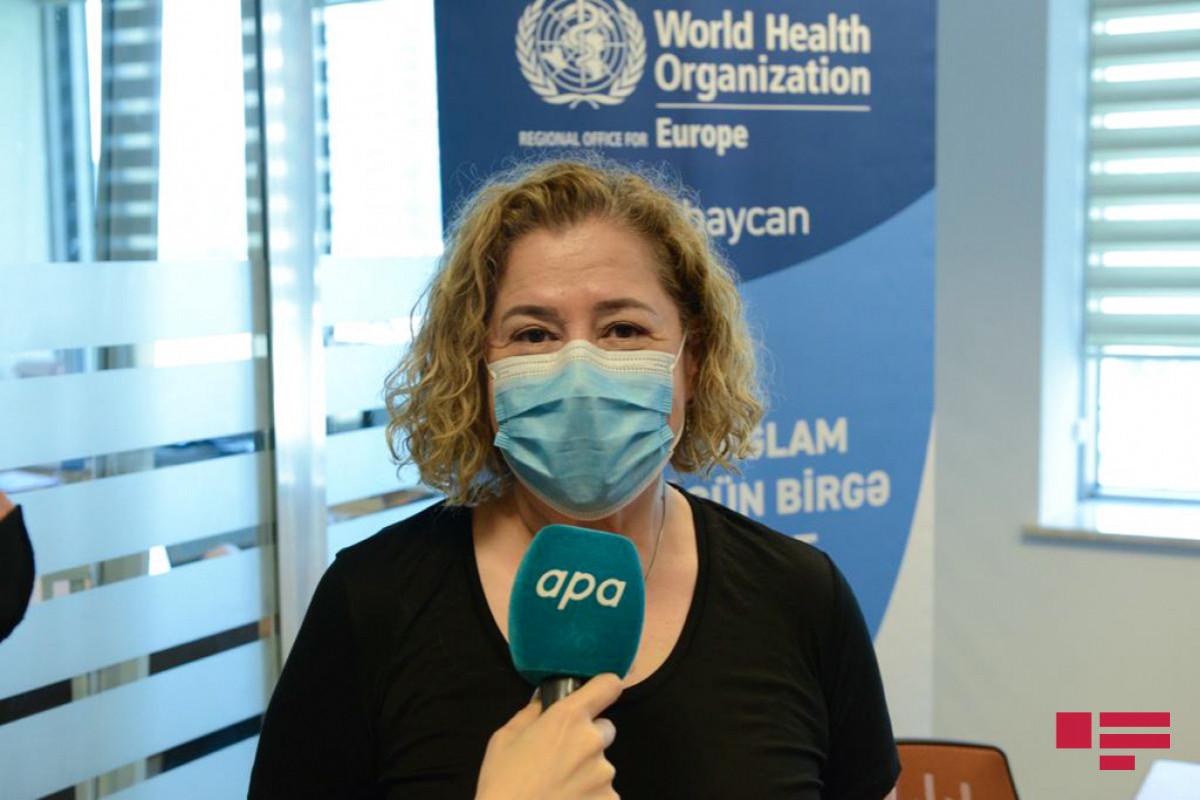 "Hande Harmanci: ""We do not see a shortage of vaccines in Azerbaijan"""