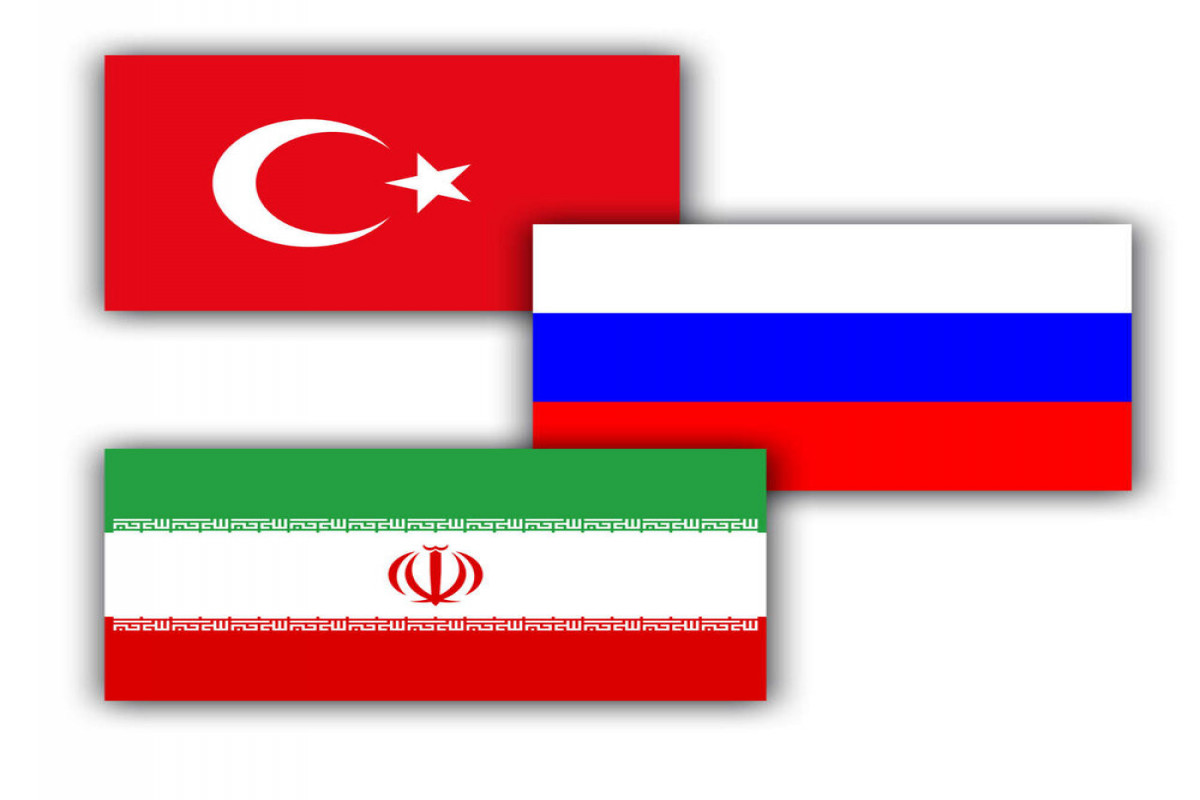 Russia, Iran, Turkey reject unilateral sanctions on Syria