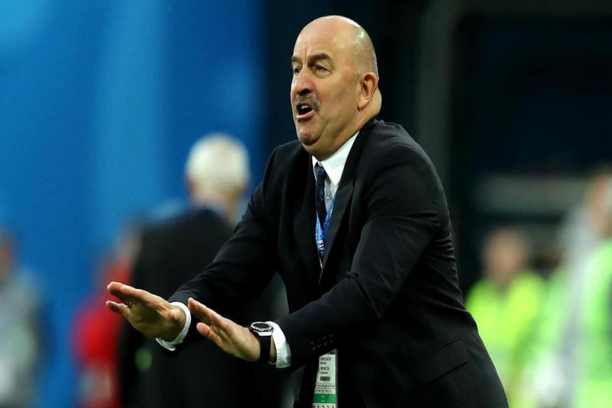 Черчесова уволили с поста главного тренера сборной России по футболу