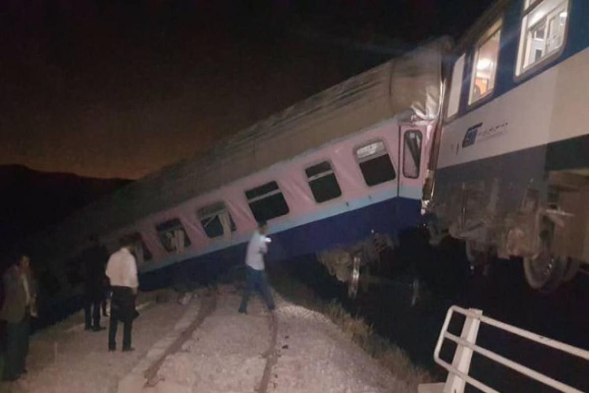 В Иране сошел с рельсов грузовой поезд, есть раненые
