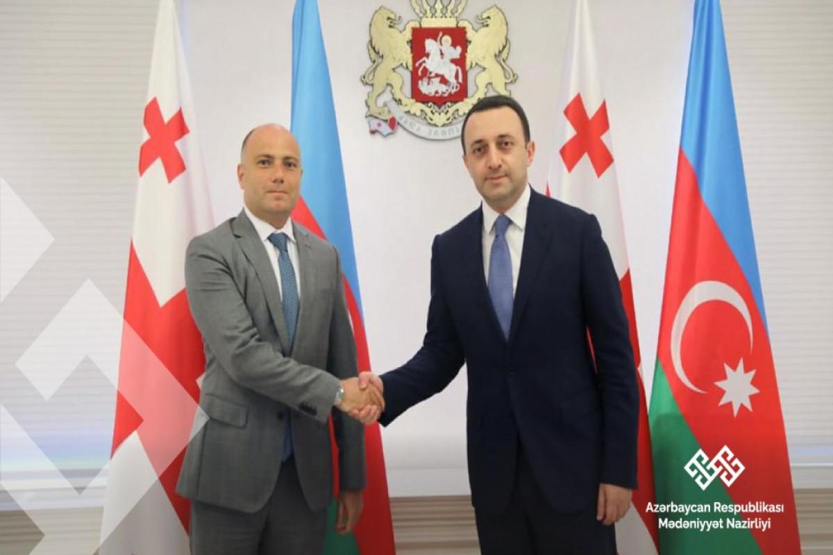 Гарибашвили: Развитие сотрудничества с Азербайджаном очень важно для Грузии