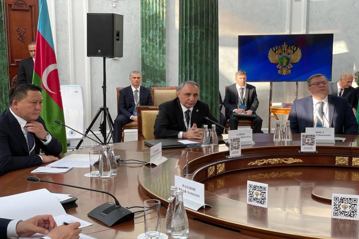 Кямран Алиев принял участие в совещании генеральных прокуроров СНГ – ФОТО