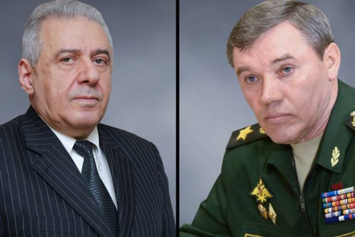 Armenia acting MOD and Russia defense minister hold phone conversation