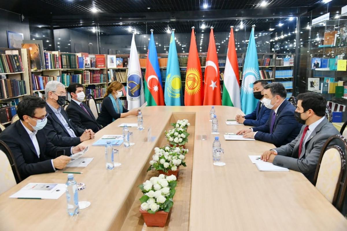 BMT Baş Assambleyasının Prezidenti Türk Akademiyasını ziyarət edib - FOTO