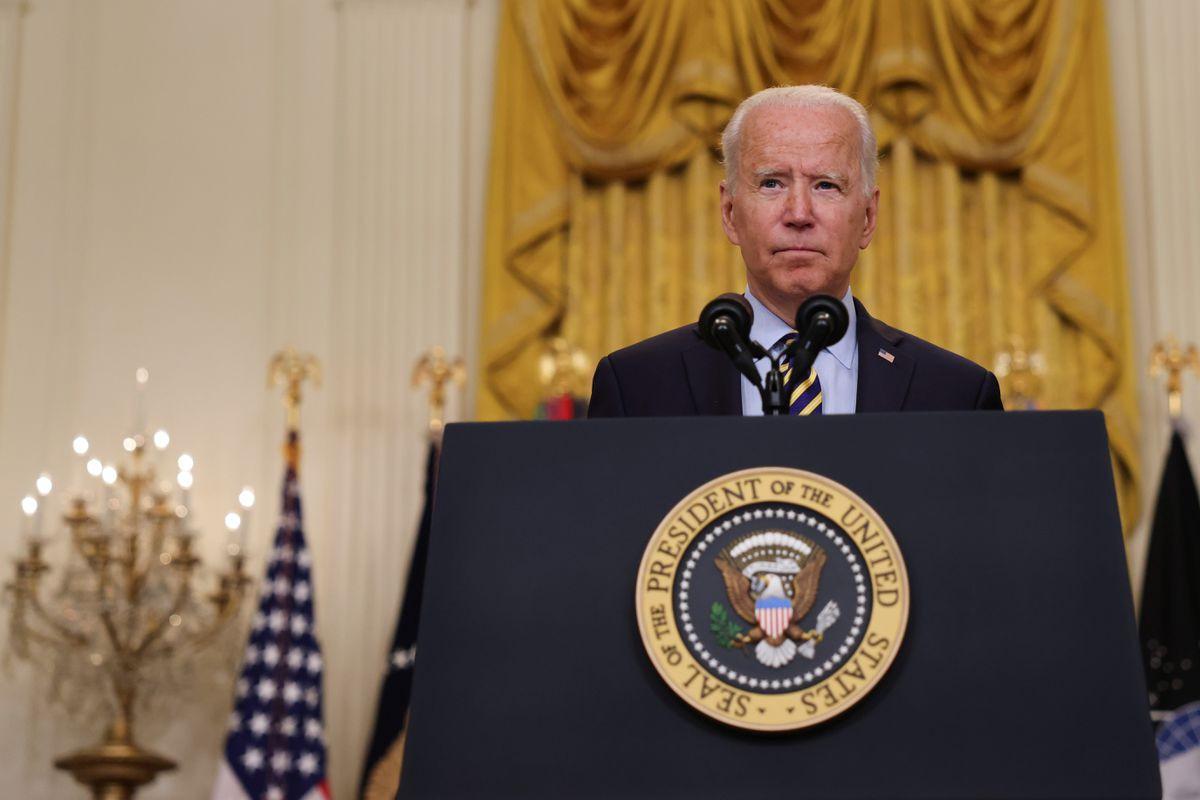 Biden says it