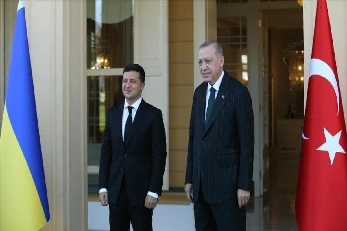 Turkish, Ukrainian presidents discuss ties in phone call