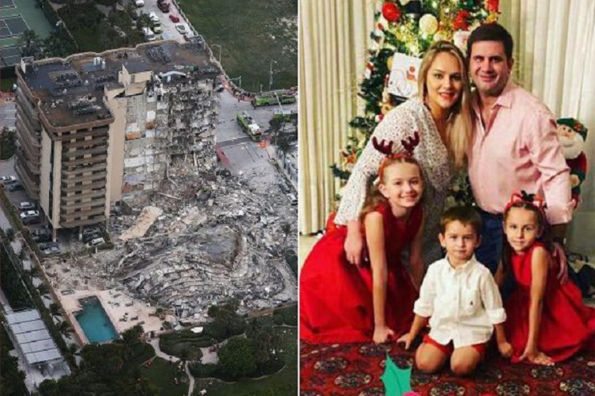 Paraqvayın birinci xanımının bacısı ABŞ-da binanın çökməsi zamanı ölüb