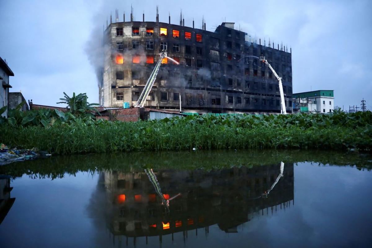 Fire at Bangladesh juice factory kills three, many feared trapped-PHOTO