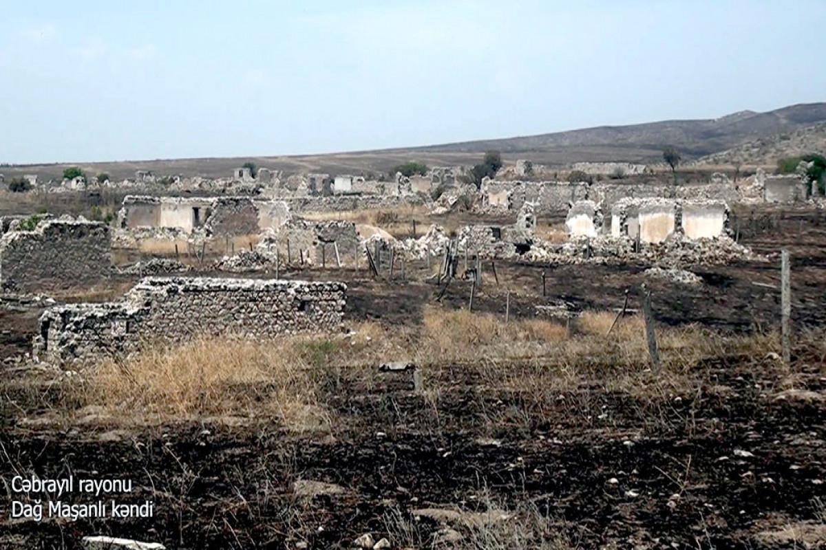 Azerbaijani MoD releases video footage of the Dagh Mashanli village of the Jabrayil region-VIDEO