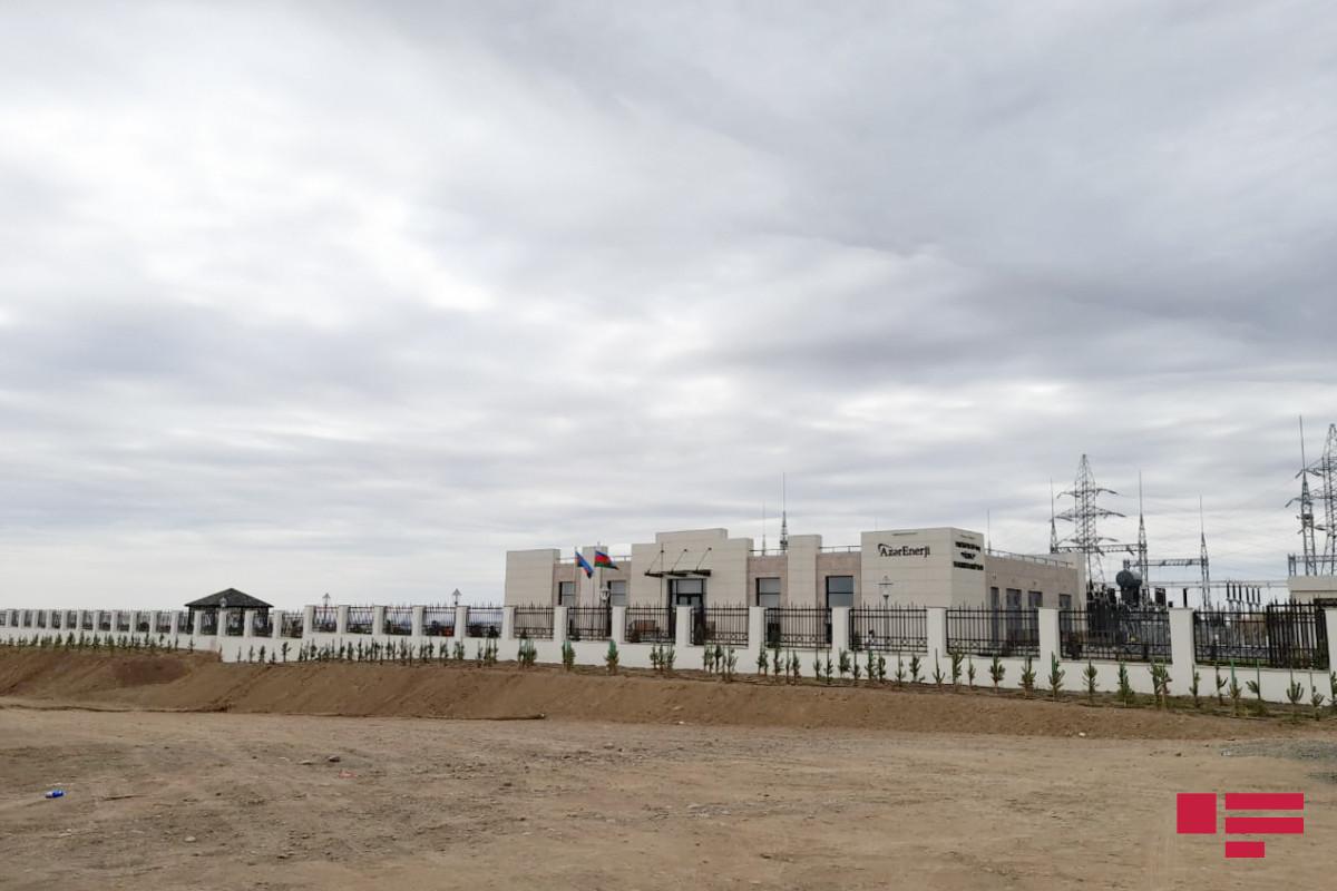 Representatives of diplomatic corps got acquainted with Fuzuli substation-PHOTO