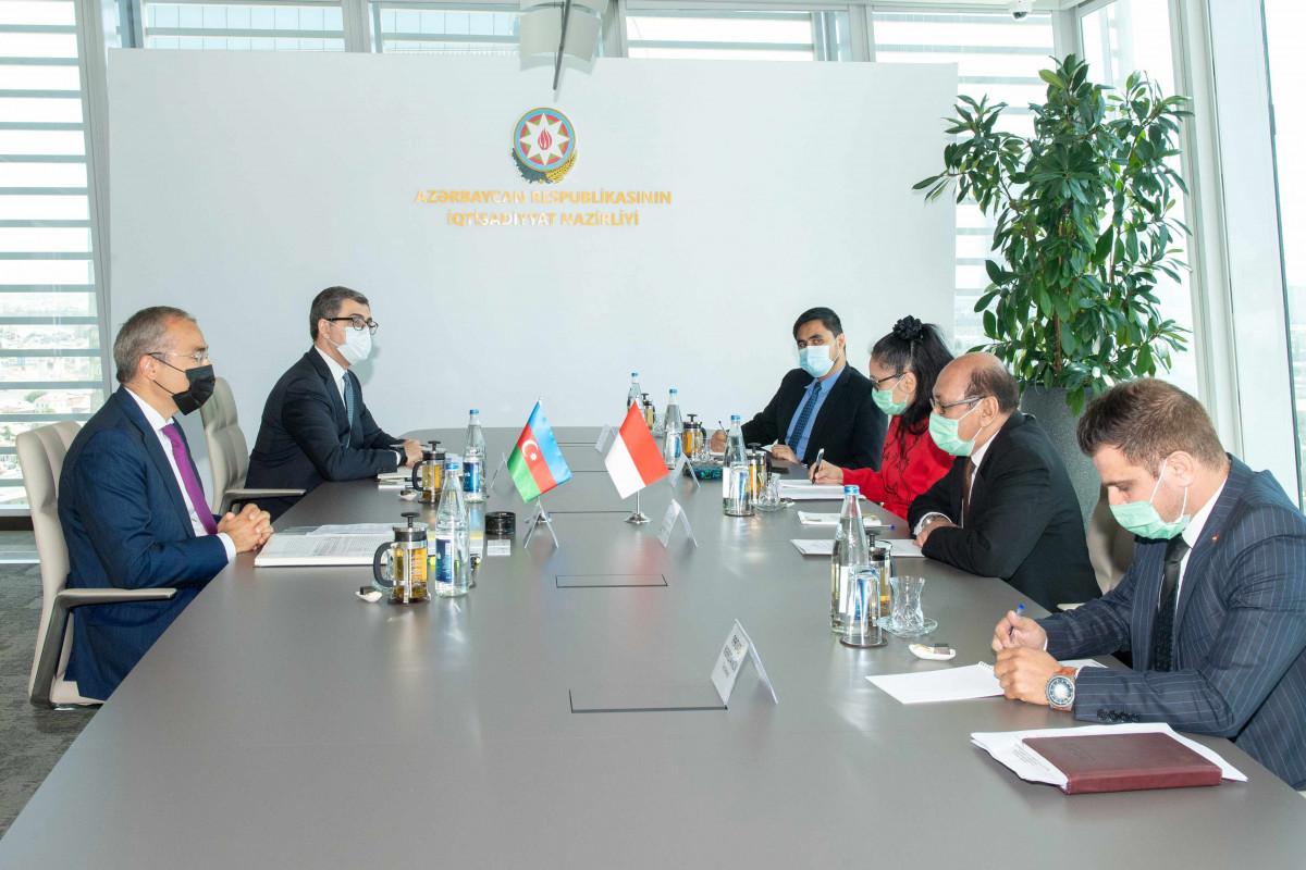 Azərbaycanla İndoneziya arasında iqtisadi əməkdaşlıq üzrə işçi qrup yaradılacaq