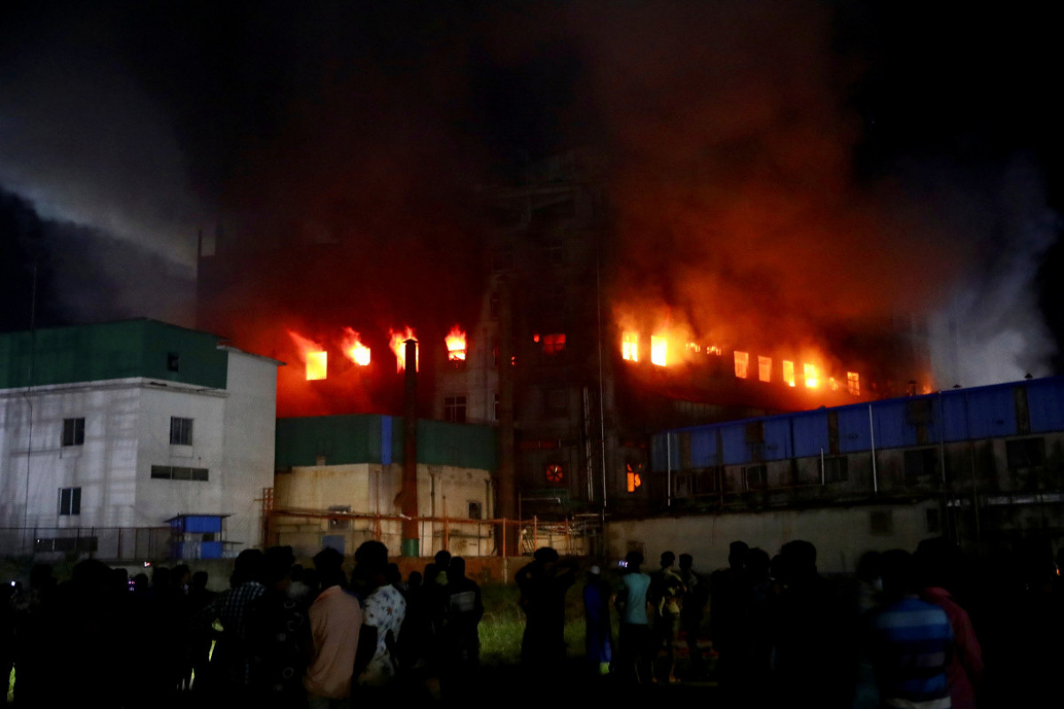 Fire at Bangladesh juice factory kills at least 43, many feared trapped