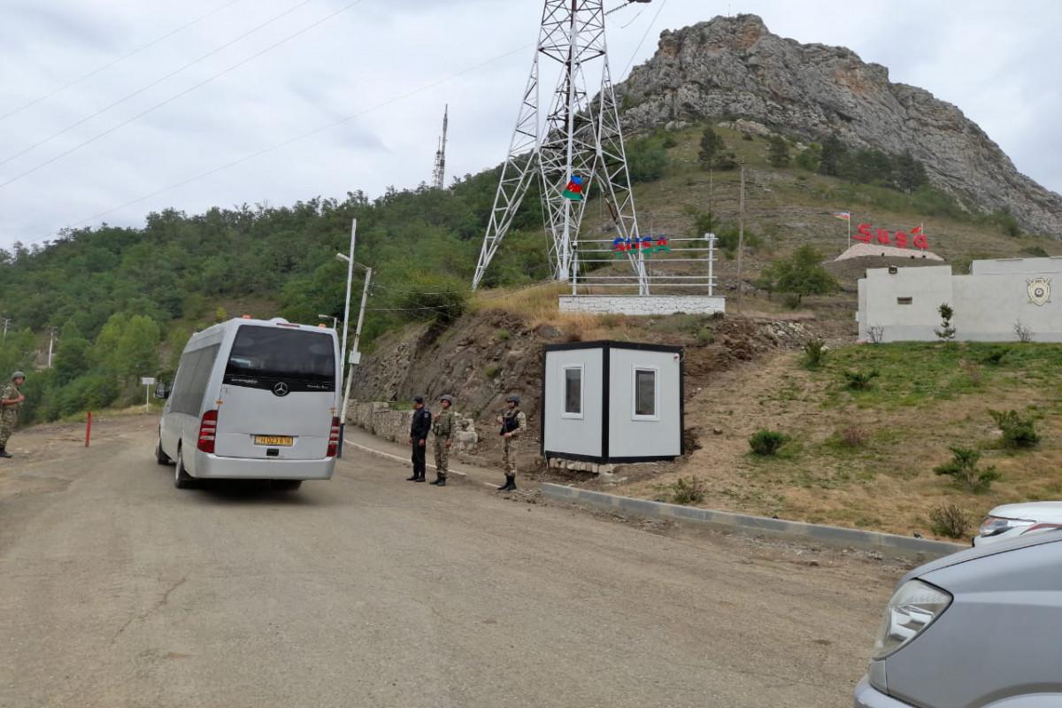 Visit of representatives of diplomatic corps in Azerbaijan to Shusha starts-VIDEO