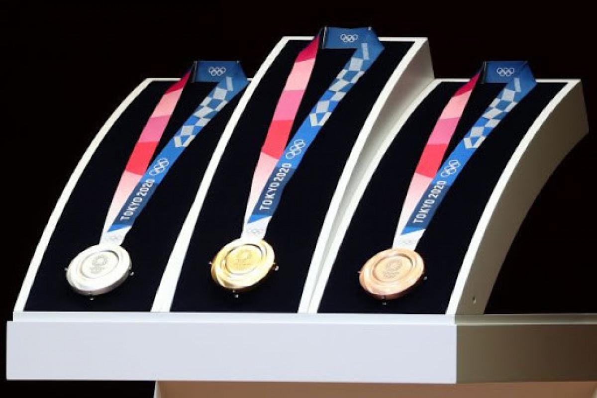 """<span class=""""red_color"""">Tokio-2020: Medallar və kürsünün nədən hazırlandığı açıqlanıb"""
