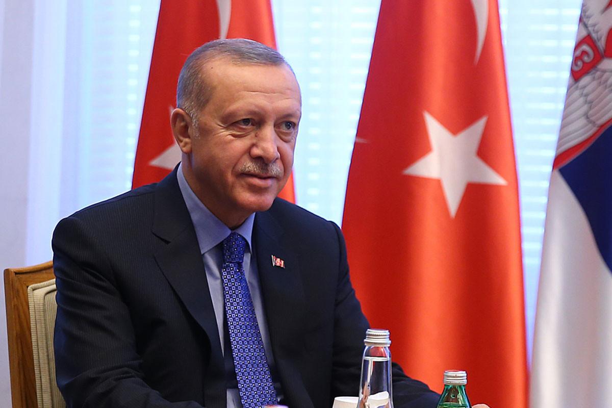 """Ərdoğan: """"Türkiyənin Kabil aeroportundakı rolu haqda ABŞ və NATO ilə danışıqlar davam edir"""""""