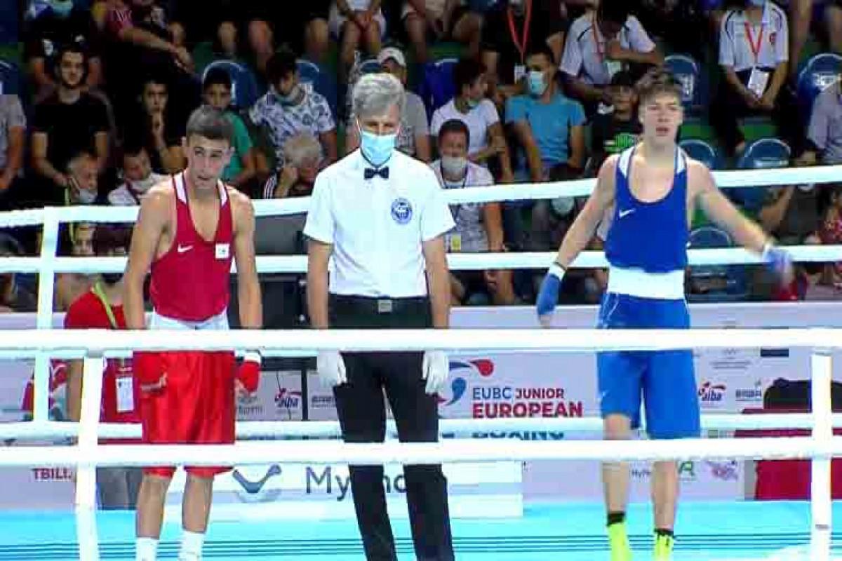 Azərbaycan boksçusu Avropa birinciliyinin finalına yüksəlib