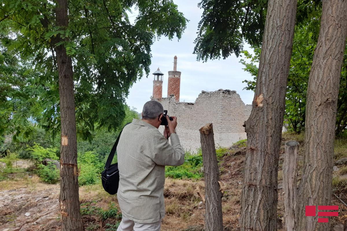 Azərbaycandakı diplomatik korpusun nümayəndələri Şuşada Aşağı Gövhər Ağa məscidində olublar
