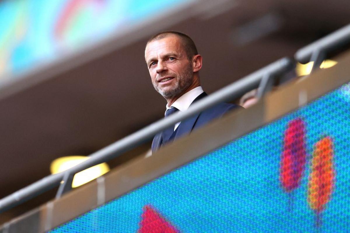 UEFA president Ceferin says he won