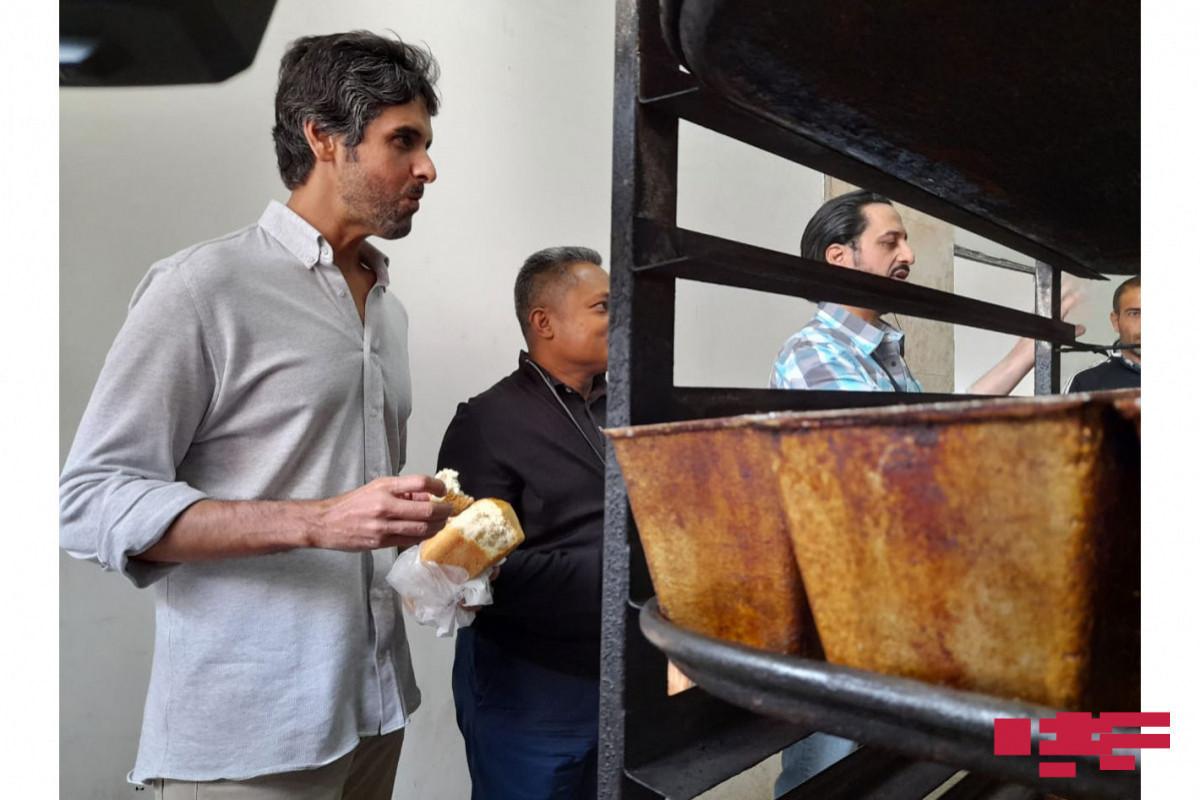 Иностранные дипломаты попробовали хлеб «Гала» в Шуше – ФОТО
