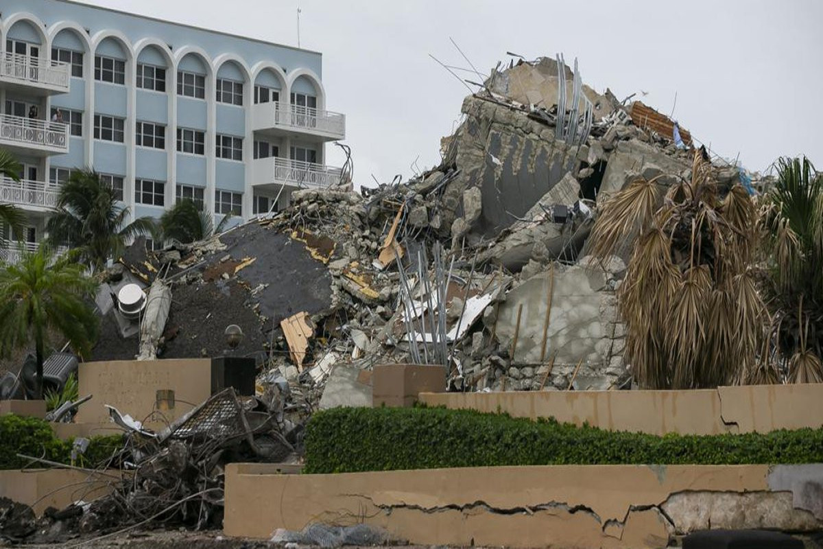 Death toll in Florida condo collapse now 78, Mayor says