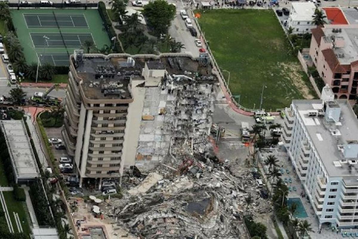 ABŞ-da binanın çökməsi nəticəsində ölənlərin sayı 79-a çatıb - YENİLƏNİB