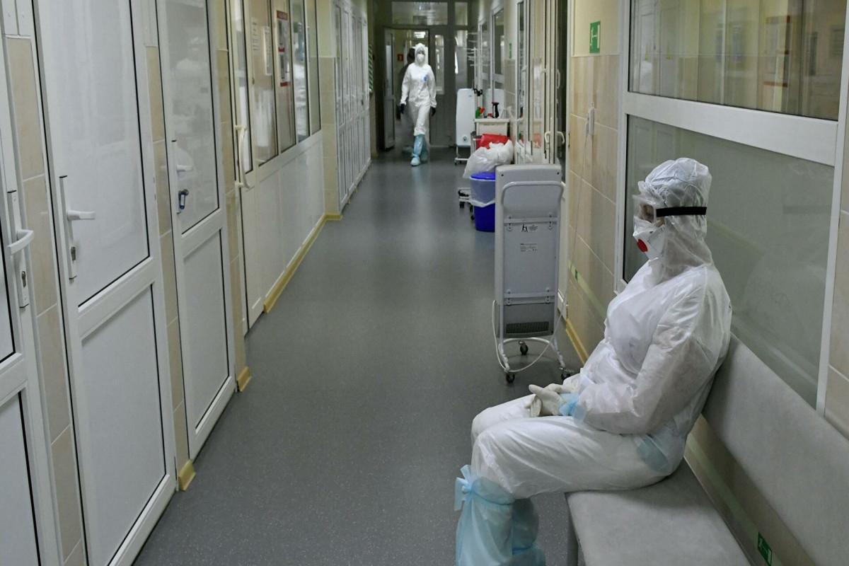 В мае от коронавируса в России умерли 12,8 тысячи человек